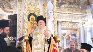 Ekümenik Patrik Bartholomeos'un 46. Episkoposluk Yıldönümü Kutlaması