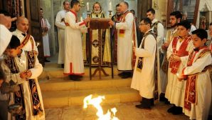 The Feast of Nativity Celebrated With The Ritual of Burning Fire in the Kırklar Church in Mardin