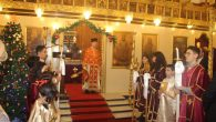 Wish for Peace in the World at Christmas Ritual in İskenderun Orthodox Church
