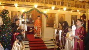 İskenderun Ortodoks Kilisesi'nde Noel Ayininde 'Dünyada Barış' Temennisi