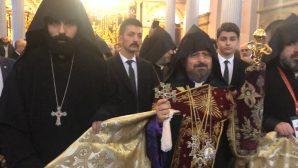 Sahak II was elected as the 85th Armenian Patriarch of Turkey