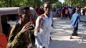 Somali'de Bombalı Aracın Patlatılması Sonucu Onlarca Kişi Hayatını Kaybetti