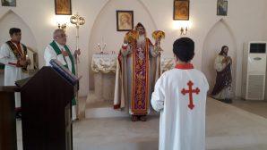 Metropolitan Melki Ürek celebrated the 'Renewal Sunday' Rite in İskenderun