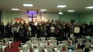 The Awakening Youth Gathered Last Time Before Christmas