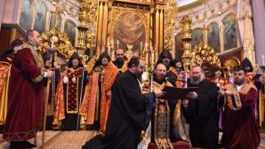 Enthronement Ceremony of the 85th Armenian Patriarch of Turkey Sahak Mashalyan held in Istanbul