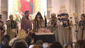 The first Eucharistic Celebration of the New Year was celebrated by the 85th Elected Armenian Patriarch of Turkey