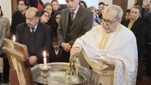 Mersin'de Vaftiz Bayramı Ayini Yapıldı