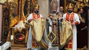 The first Eucharistic Celebration of Newly Elected Patriarch Sahak II
