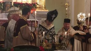 İsa Mesih'in Belirişi ve Vaftizi Ermeni Katolik Kiliseleri'nde Kutlandı