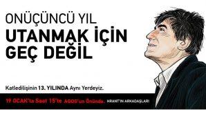 Hrant Dink Anmasının 13. Yılı