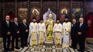 Hatay ve Mersin Ortodoks Kiliseleri, Patrik Yuhanna Yazıcı'yı Ziyaret Etti