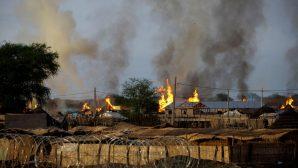 Güneydoğu Sudan'da Restore Edilen Kiliseler Yakıldı