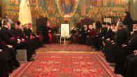 Gürcistan Patriği ve Kardinal Parolin, Hristiyanların Sorunlarını Görüştü