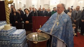 The Feast of the Baptism of Jesus celebrated in İskenderun Orthodox Church