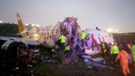 Sabiha Gökçen'de uçak pistten çıktı: 1 kişi hayatını kaybetti, 157 kişi yaralandı