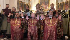 His Beatitude the Patriarch Sahak II Has Ordained 3 Deacons