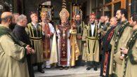 Kadasetli Patrik II. Sahak Maşalyan, 3 Diyakonu Takdis Etti