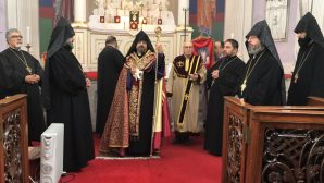 His Beatitude Patriarch Sahak II Completes the Second Day of His Visits for Hrashapar Ceremonies