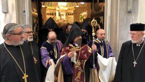 His Eminence Patriarch Sahak II Mashalyan Started His Visits with Hrashapar Ceremonies