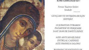 Aziz Antuan Kilisesi'nde Kateşizm Bilgilendirmesi