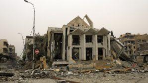 Rakka'da Ermeni Katolik Kilisesi'nin Restorasyonu Devam Ediyor