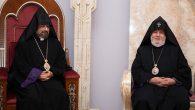 Armenian Patriarch of Turkey Sahak II Maşalyan's Visit to Surp Etchmiadzin