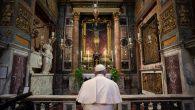 Papa, Salgının Sona Ermesi İçin Dua Etti
