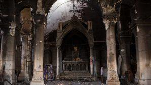 Irak'ta Hristiyanların Yaşadığı Bölgelerin Restorasyon Çalışmaları Devam Ediyor