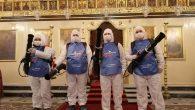 İskenderun'daki Kiliselerde 'Coronavirüs' Tedbirleri