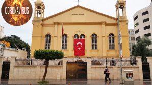 İskenderun'daki Kiliselerde Koronavirüs Tedbirleri