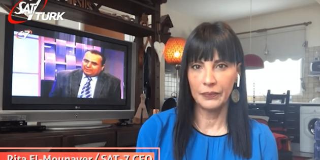 SAT-7 CEO'su Rita El-Mounayer'den Palmiye Pazarı Mesajı