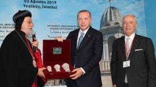 Cumhurbaşkanı Recep Tayyip Erdoğan, Süryani Ortodoks Cemaati Ruhani Lideri Metropolit Mor Filüksinos Yusuf Çetin'i Aradı