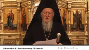 Ekümenik Patrik I. Bartholomeos, Türkiye'deki Ortodoks Gençlere Seslendi
