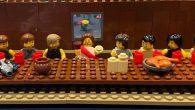 Lego Parçaları İle Paskalya Sahneleri Canlandırıldı