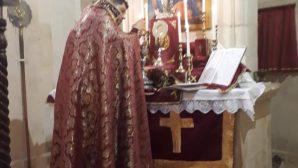 İskenderun Ermeni Kilisesinde Ailece Paskalya Ayini