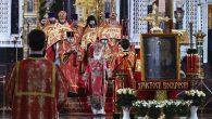 Rusya'da Paskalya Ayini TV'den Canlı Olarak Verildi