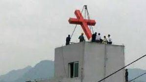 Çin Makamları Kilise Haçlarını İndirmeye Devam Ediyor