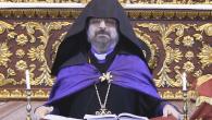 Türkiye Ermenileri Kadasetli Patriği Sahak II. Diriliş Haftalarının Son Pazarı'nda Ölüm ve Diriliş Üzerine Vaaz  Verdi