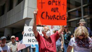 Amerikalı Pastörler, Pentikost Günü'nde Kiliseleri Açmayı Planlıyor