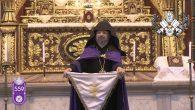 """Kadasetli Patrik Sahak II.,""""Kibir, inanç karşısındaki en büyük kayadır"""""""
