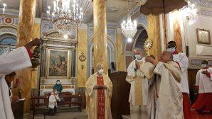 Kutsal Ruh Katedrali'nde Karantina Sonrası İlk Ayin