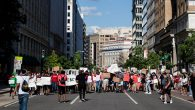 Birçok Pastör ve Devlet Yetkilisi Irksal Adalet Yürüyüşü'ne Katıldı