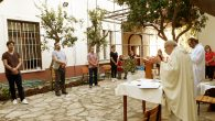 "Catholics Of Iskenderun Celebrated The ""The Corpus Christi Feast"" With A Simple Ceremony"