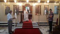 İskenderun Ortodoks Kilisesi'nde 'Mesih İsa'nın Göğe Yükselişi' Ayini