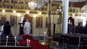 Pentecost Rite in İskenderun Orthodox Church