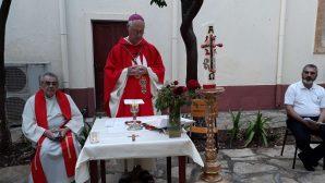 İskenderun Katolik Kilisesinde Tedbirli 'Pentikost' Ayini!