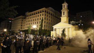 Protestolar Sırasında, ABD'deki Birçok Kilise Hasar Gördü
