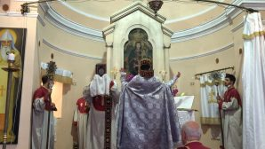 The Armenian Apostolic Church celebrated the day of Surp Santuht