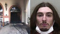 Floridalı Saldırgan, Cemaatin Bulunduğu Sırada Kiliseyi Yakmak İstedi