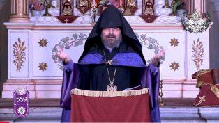 Kadasetli Patrik Sahak II'den Anlamlı Vaaz
